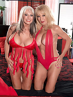60 Plus MILFs - Sharing cock. That's what friends are for - Cara Reid and Sally D'Angelo (53 Photos)